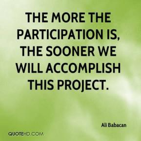 Participation Quotes