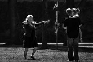 ... Tom makes amends to his family at Northwood Community Park in Irvine