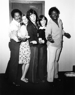 , Paul McCartney, Wings guitarist Jimmy McCulloch and Earl King ...