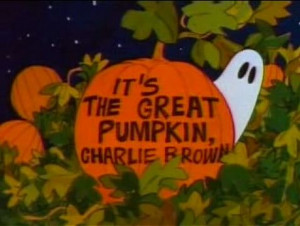It's the Great Pumpkin Charlie Brown- Clip Art, Pictures & Quotes