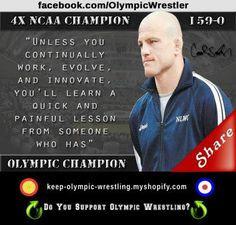 life wrestling inspiration wrestlers mom cael sanderson olympics ...
