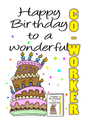 ... coworker could recall happy birthday coworker happy birthday coworker