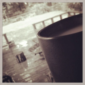 Rainy Morning Coffee