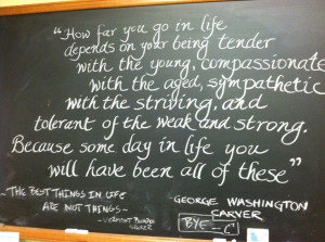 George Washing Carver Quote
