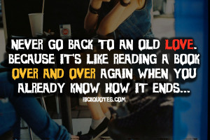 Love Quotes   Back To Old Love