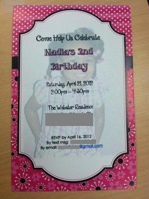 Year Old Birthday Invitations. Three Year Old Birthday Quotes. View ...