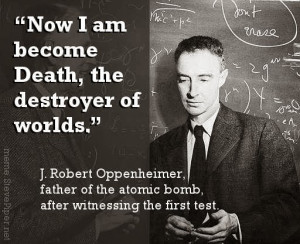 Quotes by J Robert Oppenheimer