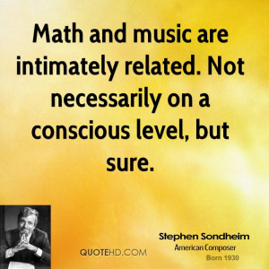 Stephen Sondheim Quotes