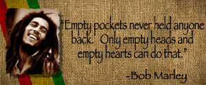 Inspirational Quotes by Bob Marley