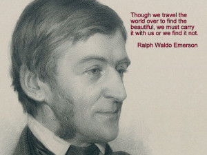 ... bit of time on the transcendentalist, because they spoke to my heart