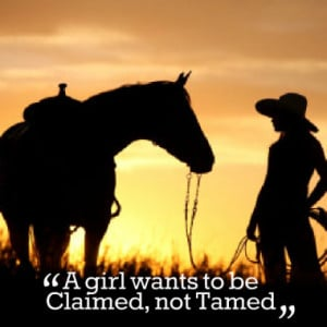 Quotes About Horse Girl