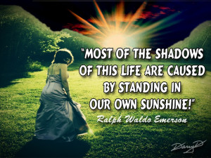 Radiant Sunshine And Shadow