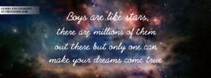 boys are like stars , quote , quotes , covers , stars
