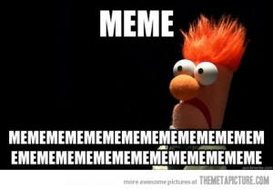 Funny photos funny Beaker Muppets meme
