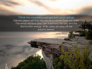 John Muir Mountains Quote