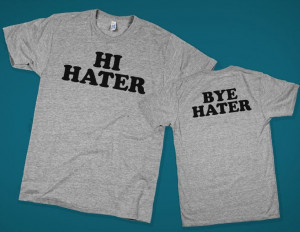 Hi/Bye Hater || #Funny #hater #lol #quote