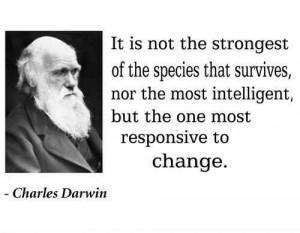 Change Charles Darwin #quote