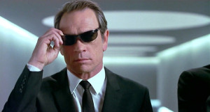 Tommy Lee Jones as Agent K in Men in Black (1997)