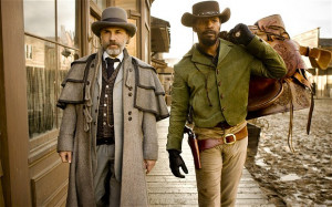 Christoph Waltz, left, and Jamie Foxx star in Django Unchained. Photo ...