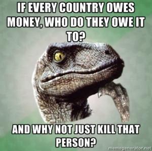 Owe Money? by fredrickburn