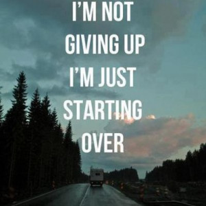 Fresh Start Quotes|Get Started Quotes|Starting over Again|Quote|New ...