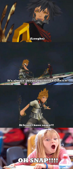 Kingdom Hearts Quotes Darkness Favourite quote from any kh