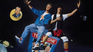 script for the fabled third Bill & Ted is nearing completion. So ...