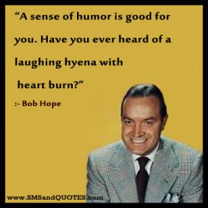 Sense Of Humor Is Good