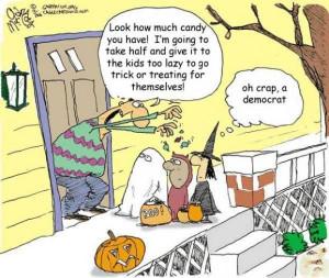 Halloween Joke Cartoon