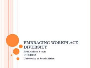 embracing workplace diversity embracing workplace diversity prof ...
