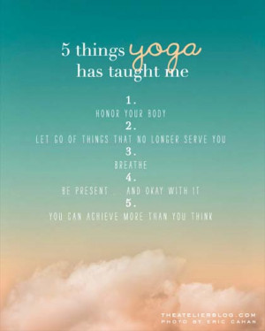 hope you enjoyed our collection of Inspirational Yoga Picture Quotes ...