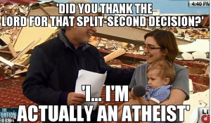 Embarrassing moment Wolf Blitzer asks mother if she thanked the Lord ...