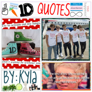 One Direction Quotes - Polyvore