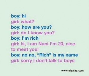 Boy and Girl Jokes - Funny Jokes