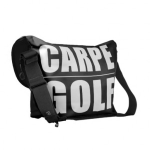 Funny Golfers Quotes Jokes : Carpe Golf Courier Bags