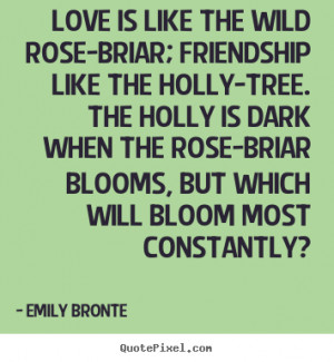 quotes about friendship by emily bronte make custom quote image
