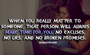 Love Quotes | Make Time For You - RICK Quotes - Love Quotes | We Heart ...