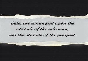Inspirational sales quote