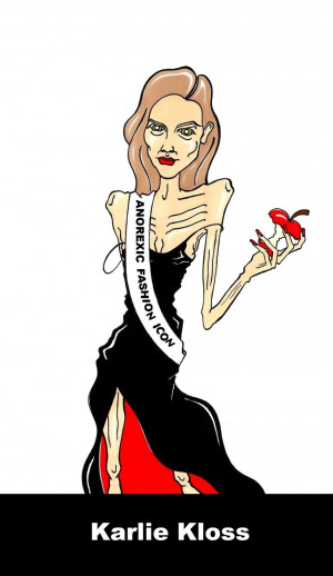 Anorexia Icons Anorexic fashion icons