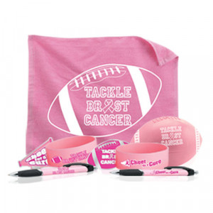 Home > Breast Cancer Awareness Football Themed Fundraising Kit