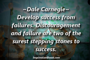 Dale Carnegie's Quote about Success