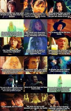Such memorable quotes from such a memorable series~ More