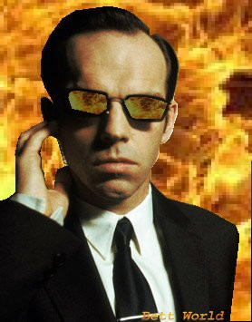 Here is my Agent Smith