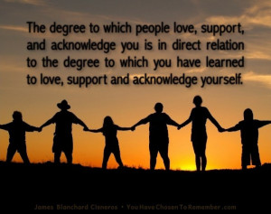Inspirational Quotes about Love by James Blanchard Cisneros, author of ...