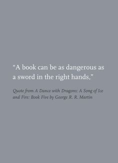 Quote from A Dance with Dragons: A Song of Ice and Fire: Book Five by ...