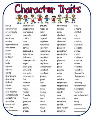 Character building essay
