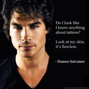 ... , pretty, sexy, skin, tattoo, the vampire diaries, vampire diaries