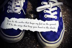 Mayday Parade, lyrics, quotes and sayings, vans, blue. photo ...