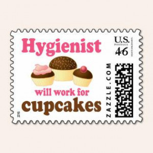 Funny Chocolate Cupcakes Dental Hygienist