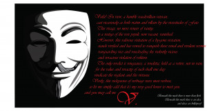 Guy Fawkes For Vendetta